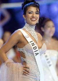 Miss World Priyanka Chopra 2000