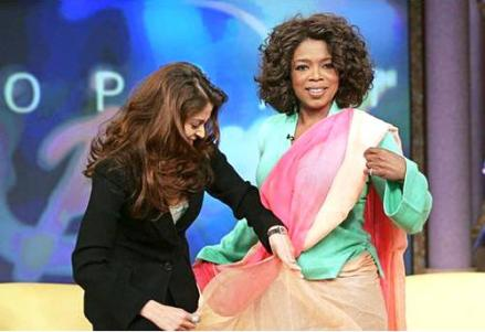 She-Is-The-First-Indian-To-Participate-In-The-Famous-Oprah-Winfrey-Show-In-America
