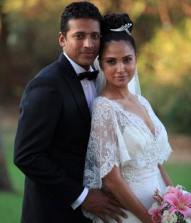 Mr and Mrs Bhupathi