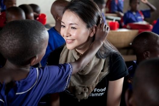 WFP hosts Kurara Chibana on School Meals Visit 5