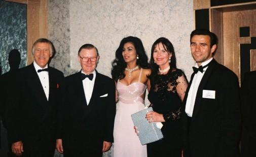 (L)Erick Morley, Julia Morley, Bruse Forthyse, Miss Venezuela and Leo-Sergei Täht