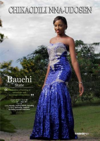 Miss Bauchi – Chikaodili Nna-Udosen – MBGN ECOWAS 2015 (3rd Runner Up)
