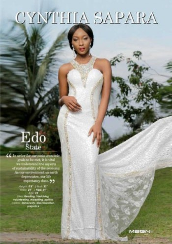 Miss Edo – Cynthia Sapara – 4th Runner Up