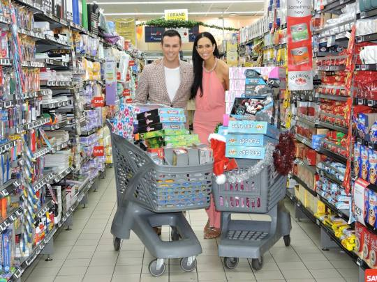 Pick n Pay KwaZulu-Natal handed Tatum Keshwar and Armand Du Plessis gift cards to the value of R10 000-00 which we could use in their Musgrave-Centre store to purchase toys and household items for the Durban Child & Youth Care Centre.