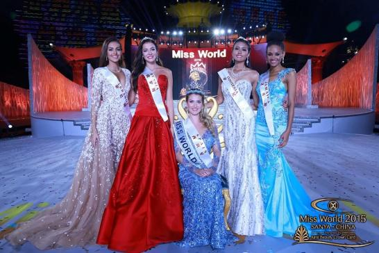 Miss World top 5