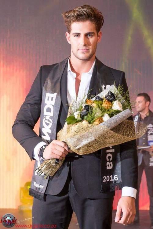 Evan van Soest - male winner of Top Model South Africa 2016
