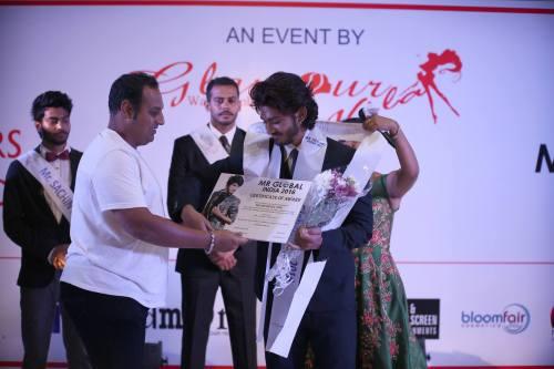 Mr Global India 2016 - Abhishek Giri