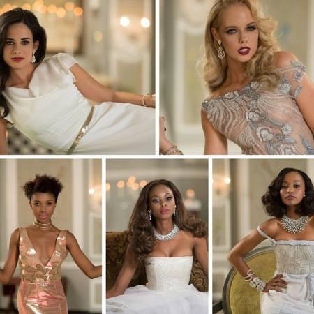 The Top 5 of Miss SA 2016