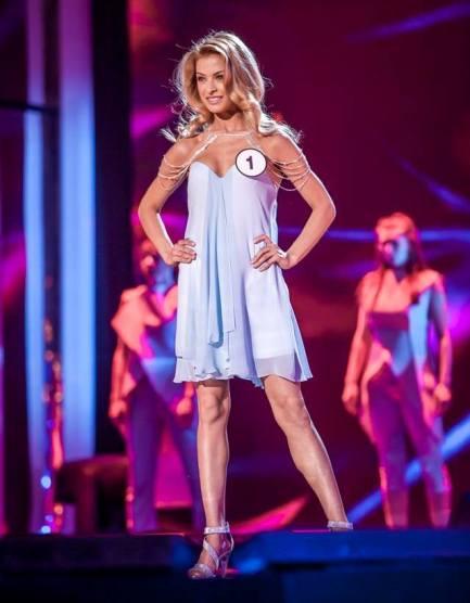 Česká Miss Earth 2016 Kristýna Kubíčková