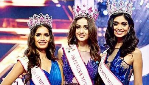 Left to Right: Vartika Singh, Aditi Arya and Aafreen Vaz