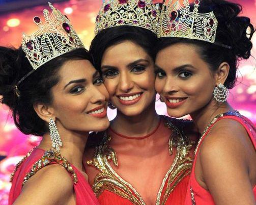 Left - Right: Jhataleka Malhotra, Koyal Rana and Gail Da Silva