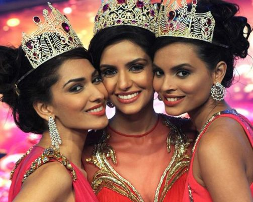 Left - Right: Jhataleka Malhotra, Koyal Rana and Gail Da Silva