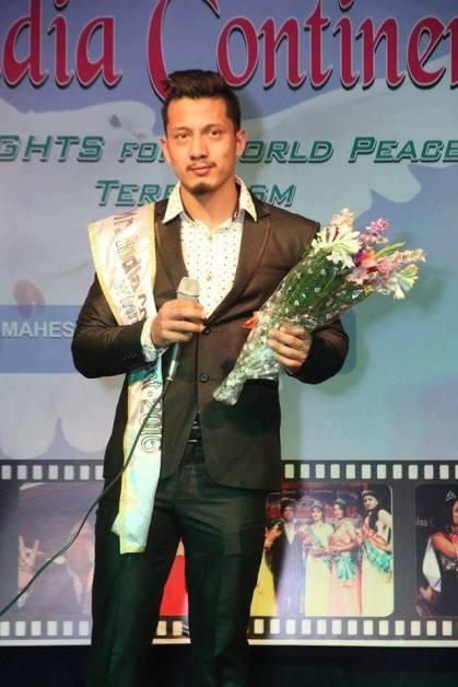 Mr India Continent 2016 - Naseeb Tamang