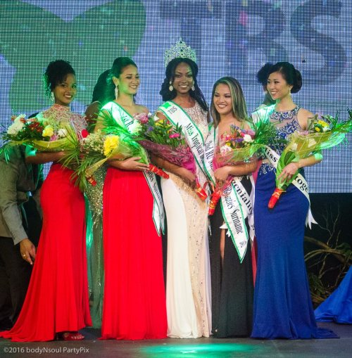 The-final-5-of-Miss-Tropical-Beauties-Suriname
