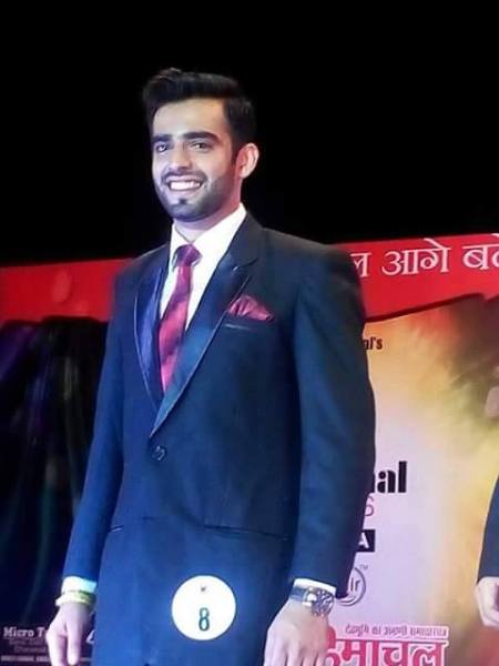 Sidharth Sood during Formal Wear round