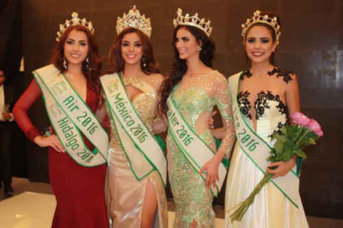Miss Earth Mexico 2016 winners