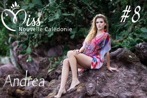 Andrea Lux, Miss New Caledonia 2016.