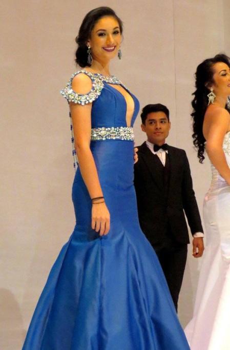 Miss International El Salvador 2016, Fátima Mangandi
