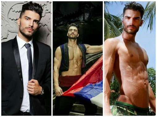 Reigning Mister Universal Ambassador 2016 - Aleksa Gavrilović. Picture Credits - Mister Universal Ambassador