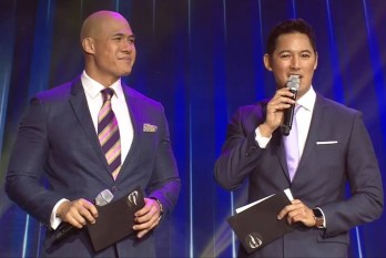 The hosts: Rovilson Fernandez and Marc Saw Nelson