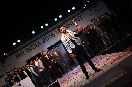 1st Runner Up: Anmol Dhingra, he graduated from University of West London. He owns a chain of restaurants with a name called Manguram. He wants to be a Model.
