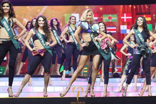 Miss Earth 2016 Opening round. Image credits: Miss Earth
