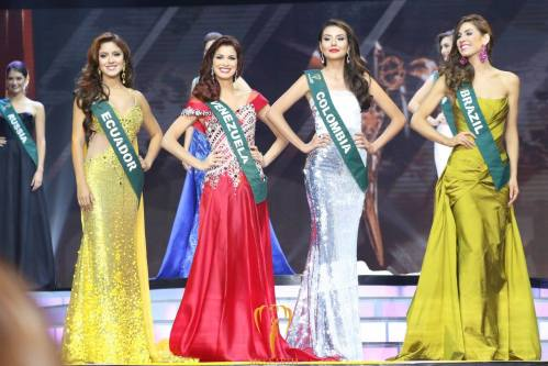 The Top 4. Image Credits: Miss Earth