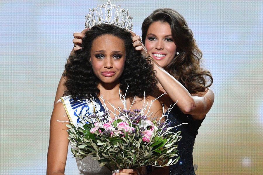 Miss guyane alicia aylies crowned miss france 2017 indian and world pageant - Miss guyane alicia aylies ...