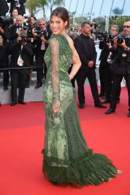 Iris Mittenaere MIss Universe at Cannes 2017