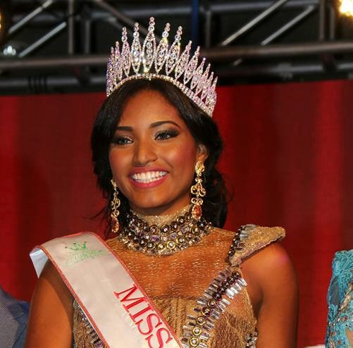 Nashaira Balentien appointed as Miss Universe Curacao 2017