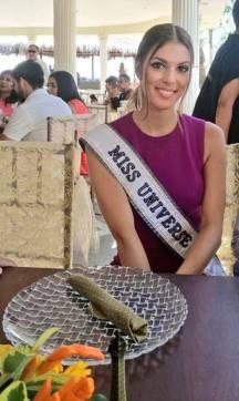 Iris Mittenaere Miss Universe 2016 in Ecuador