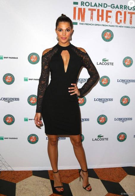 Iris Mittenaere Miss Universe 2016 at Roland Garros Reception in New York