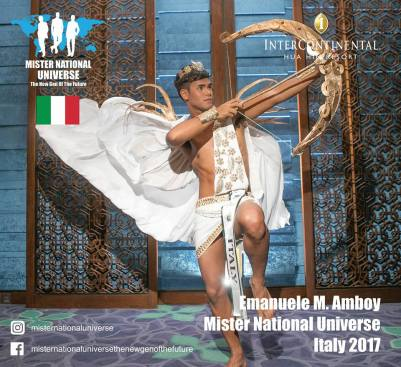 Italy Emanuele Amboy