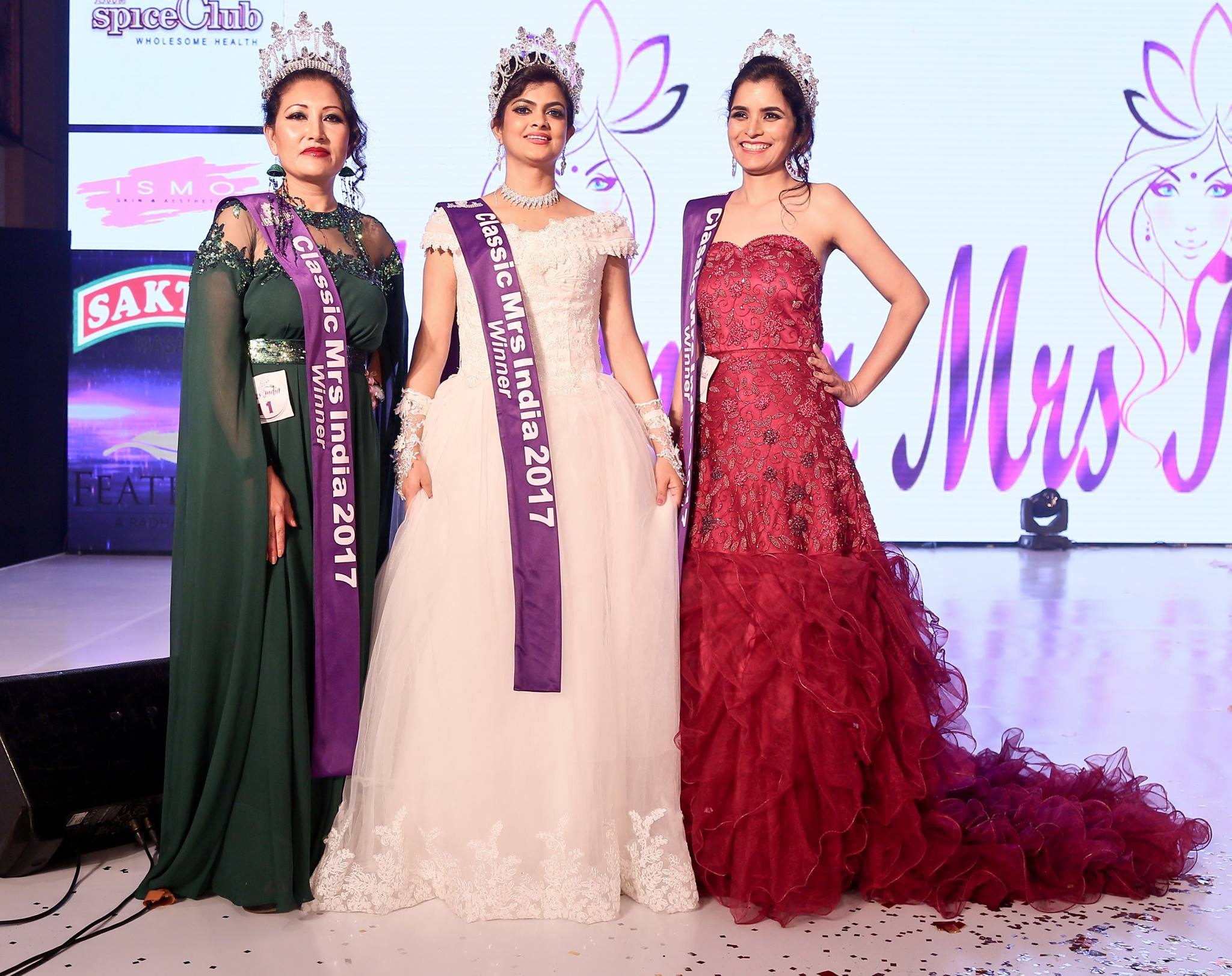 Mrs India 2017 winners – Indian and World Pageant