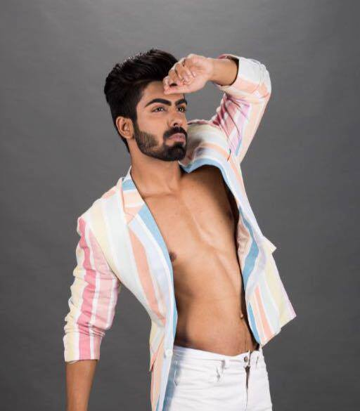 Meet Akash Choudhary, the first Mr India to appear in