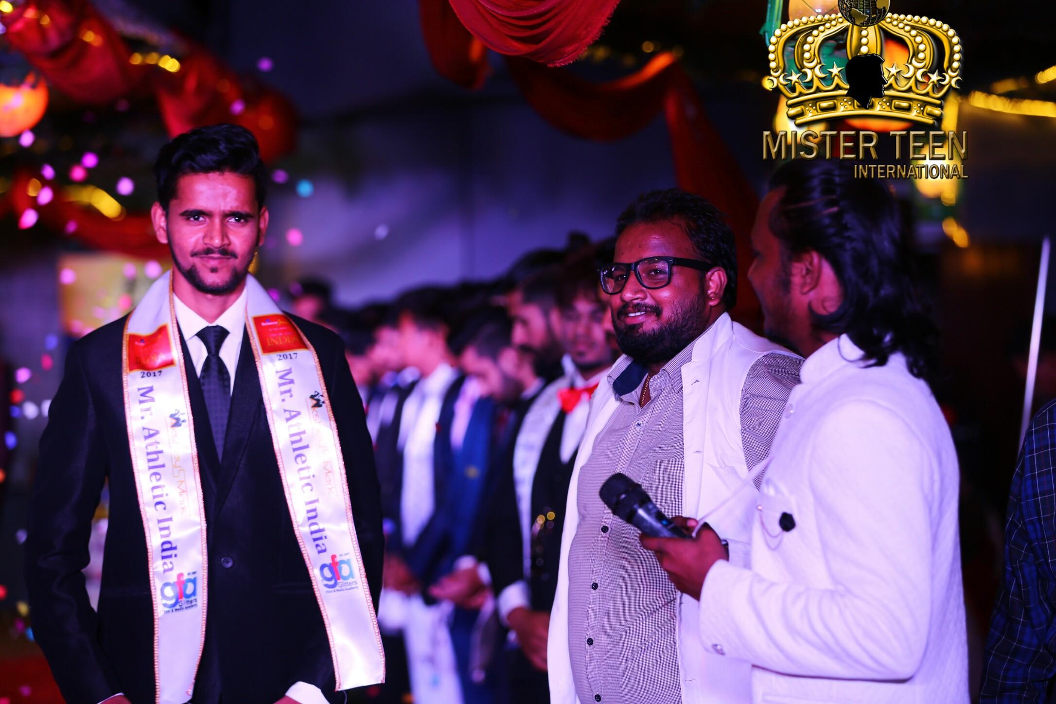 Dheeraj Shinde to represent India at the 2017 Prince Teen