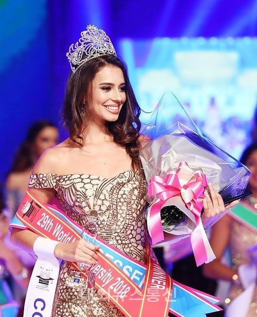 Adri Moyaa World Miss University 2018