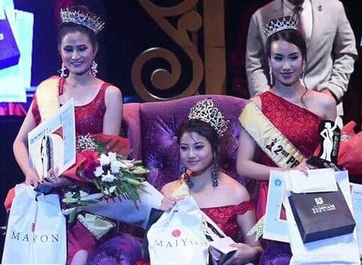Miss Manipur 2018 Raima Sharma