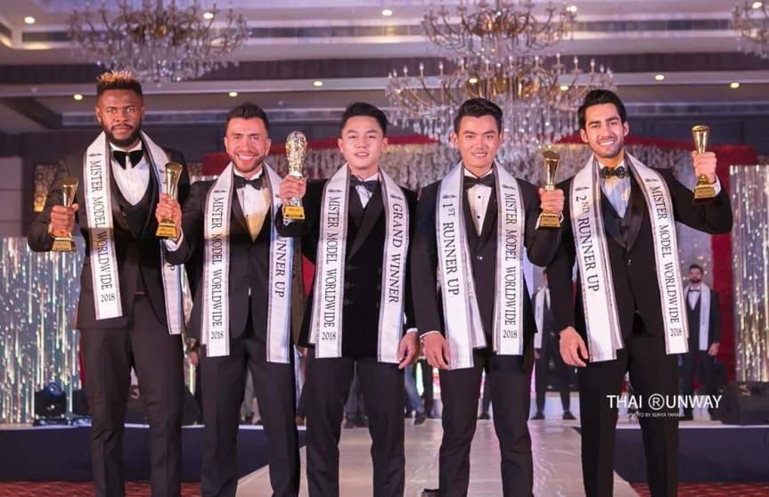 Mister Model Worldwide 2018 winners