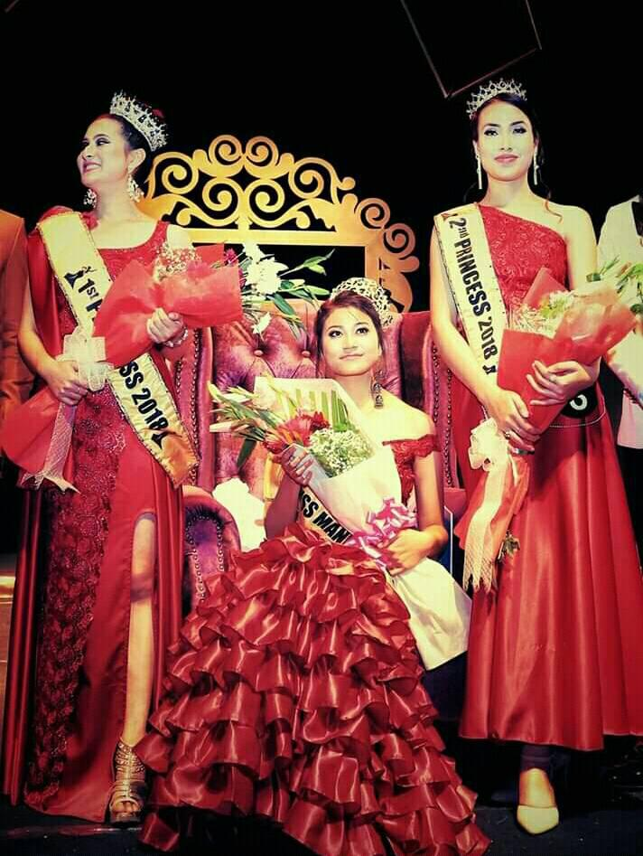 Raina Sharma Laimayum Miss Manipur 2018