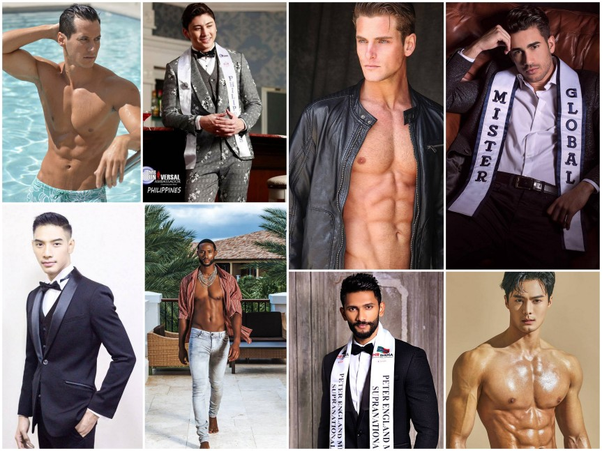 Male Pageant winners of 2018