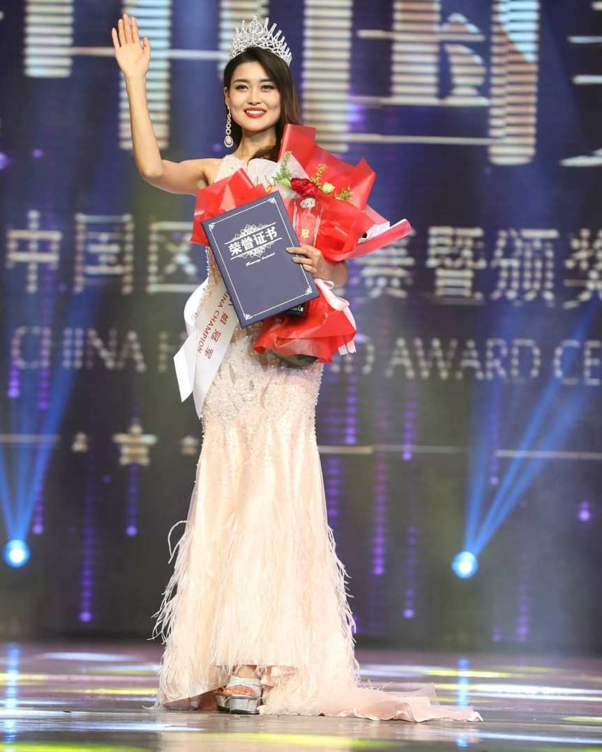 rosie xin zhu miss universe china 2019