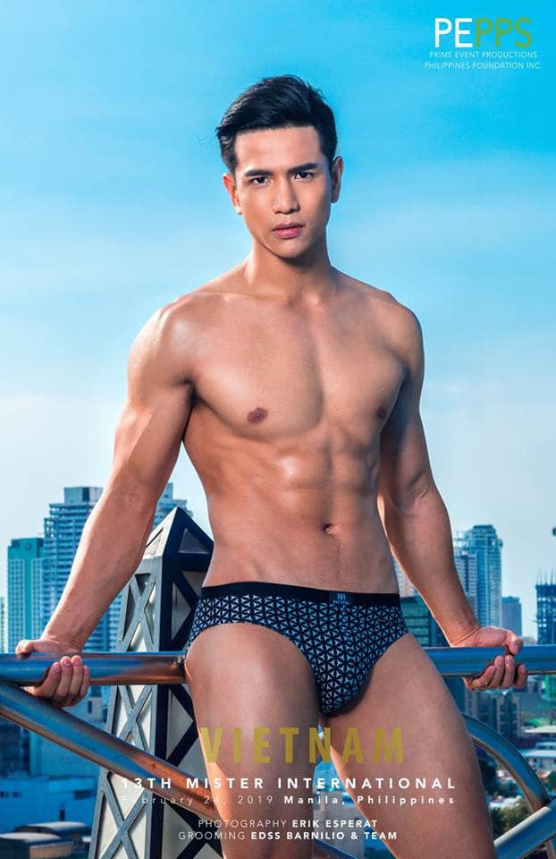Mister International 2019 Trinh Van Bao