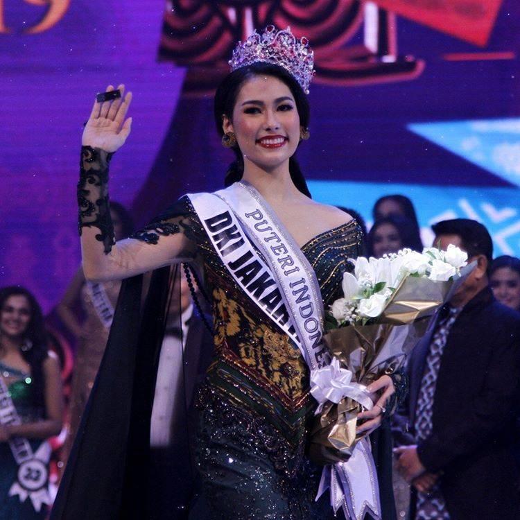 Frederika Alexis Cull Puteri Indonesia 2019