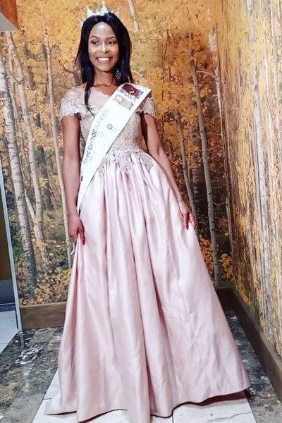Palesa-Makara Miss Lesotho 20149