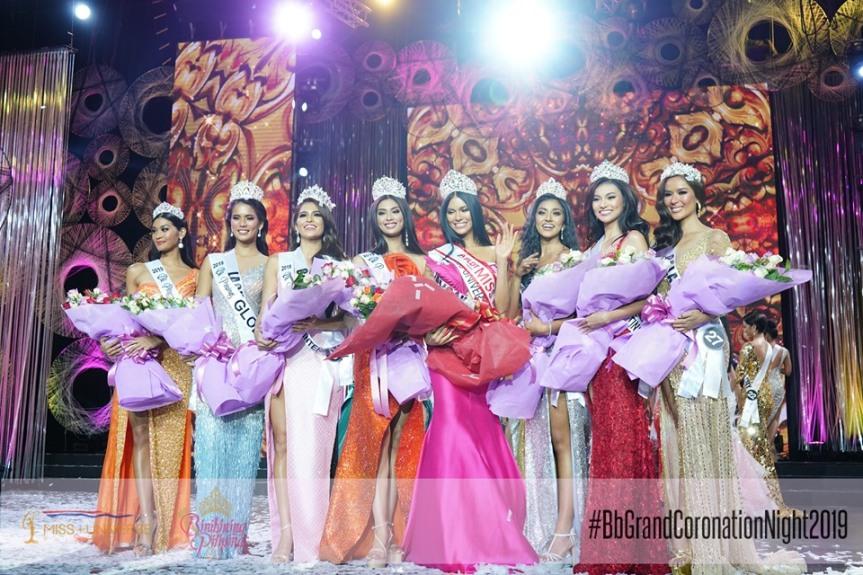 Bb. Pilipinas 2019 winners
