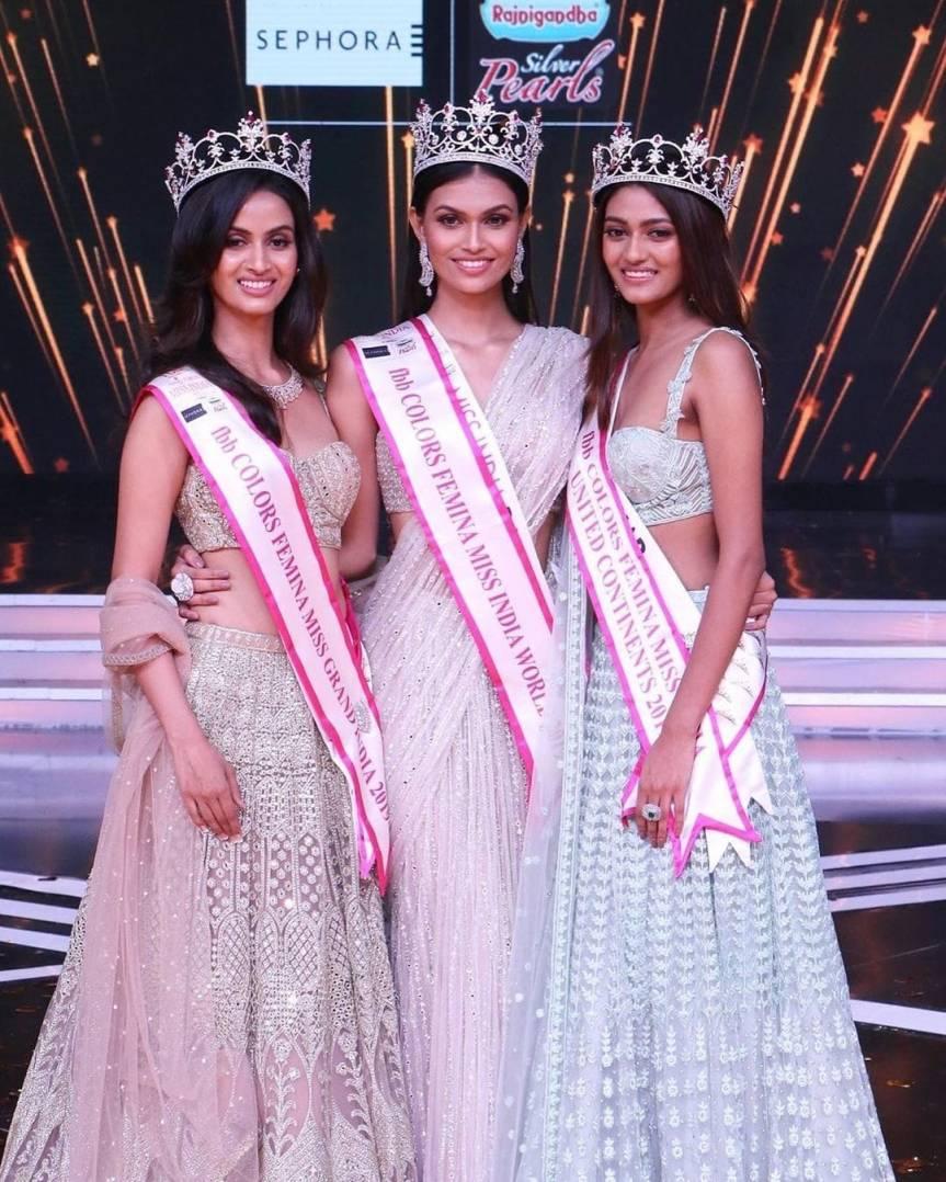 Femina Miss India 2019 winners