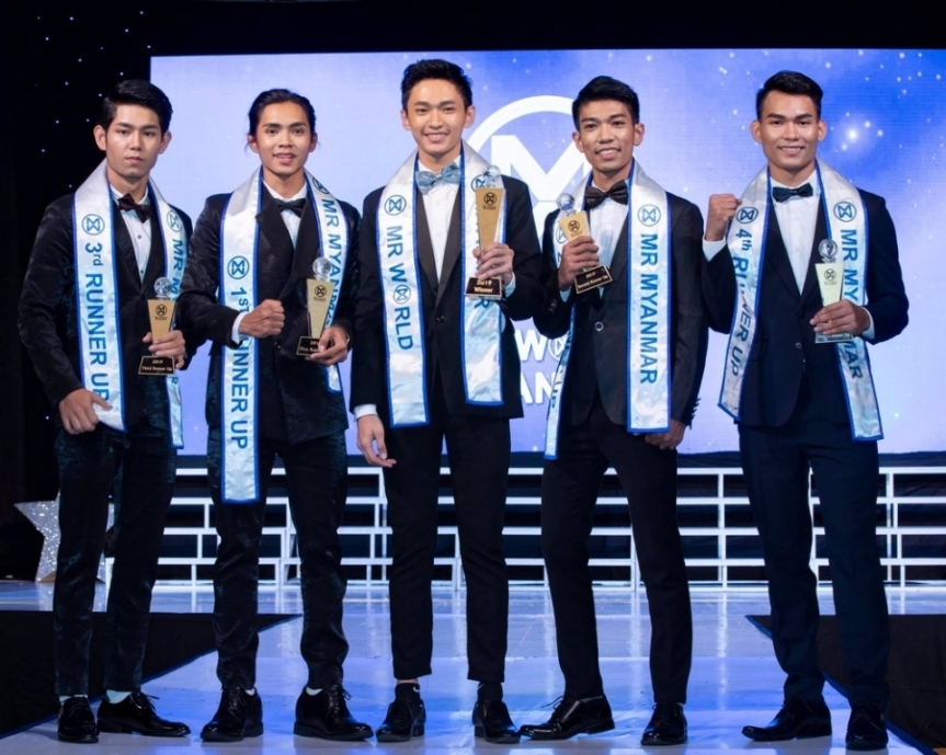Mister World Myanmar 2019