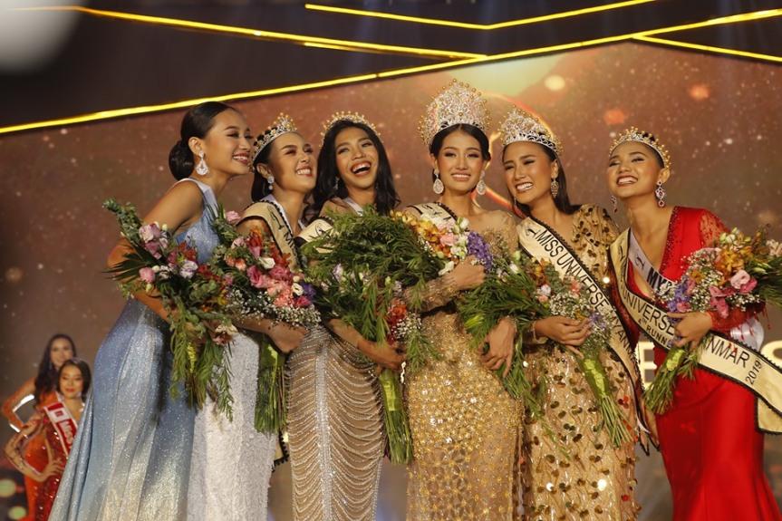 Swe Zin Htet Miss Universe Myanmar 2019