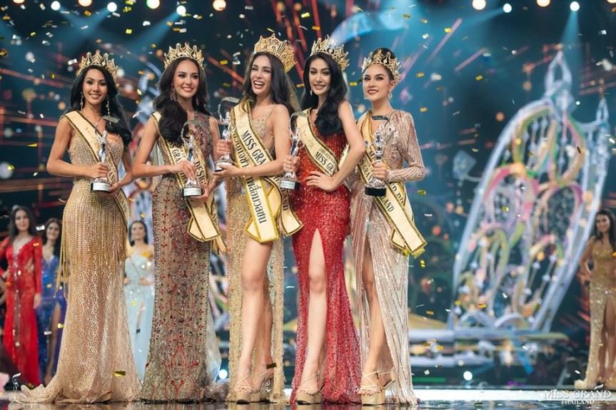 Coco Arayha Suparuk Miss Grand Thailand 2019 winners
